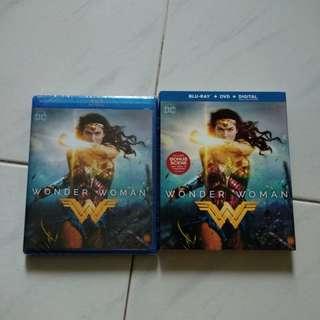 Wonder Woman - Blu Ray & DVD - US Import (original)
