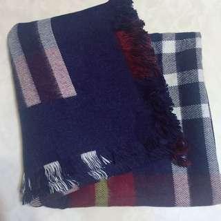 🚚 圍巾 披肩 格紋