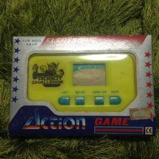 Vintage handheld game
