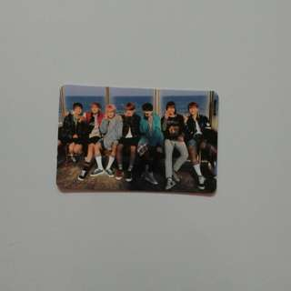 BTS Official You Never Walk Alone Photocard