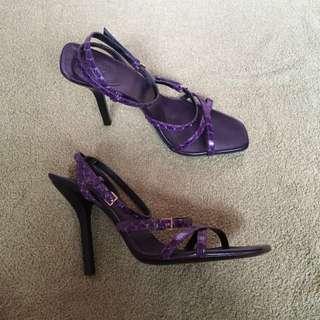 Gucci high heeled sandals