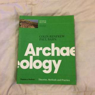 Renfrew & Bahn Archaeology 7th Ed