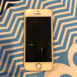 iphone se 玫瑰金 128g 外殼有損傷