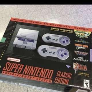 SNES Super Nintendo entertainment systems