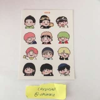 [WTS] Suga Fansite stickers