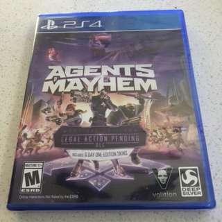 Agents of mayhem brand new sealed