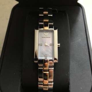 (全新✨-開倉價‼️) EMPORIO ARMANI 女裝手錶