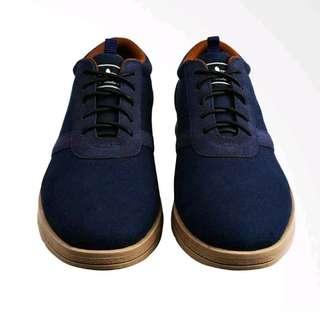 Footstep Footwear Astro Navy Sneakers