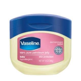 Vaseline 100% Pure Petroleum Jelly Baby Hypoallergenic