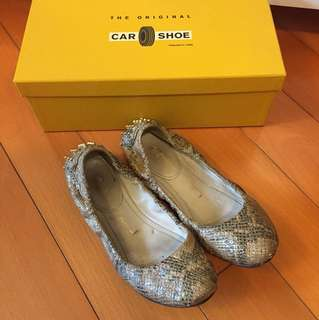 Cars snake leather flats 平底鞋 size 36