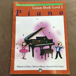 Alfred's Basic Piano Lesson Book Level 2