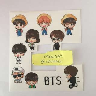[WTS]BTS Muster Fansite stickers