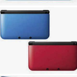 3DS XL (Blue / Red)