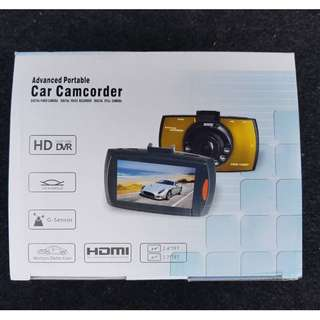 FULL HD DVR Car Camera with 2.4 inch TFT LCD Screen