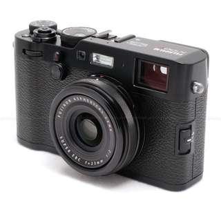 Fujifilm X100F Digital Camera (Black/silver)