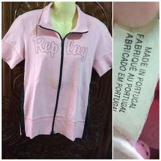 Replay pink shirt