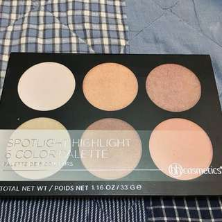 BH Cosmetics 6 Color Highlighter Palette