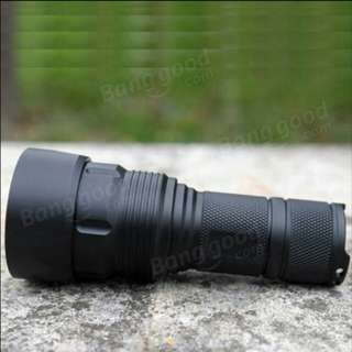 Xpl HI 1300lm focusing led flashlight with 5200mah 26650 rechargeable battery