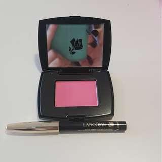 Lancome Blush Subtil 021 Rose Paradis 2.5g & Crayob Khol 01 Noir 0.7g