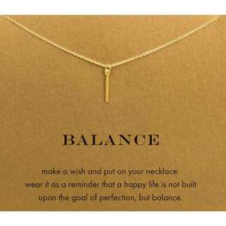 BALANCE NECKLACE 📿