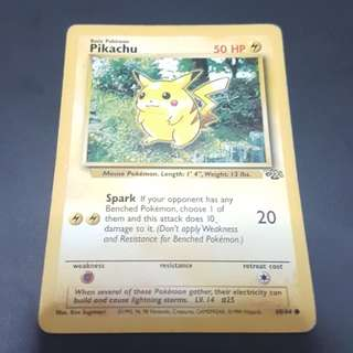 Pokemon Card Pikachu Jungle 60/64 (Common)