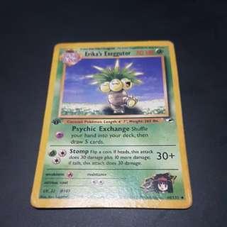 Pokemon Card Erika's Exeggutor Gym Heroes 44/132 (Uncommon)