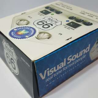 Visual Sound Distortion and  compression pedal