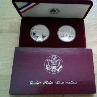 US Olympic 1983 & 1984 coins