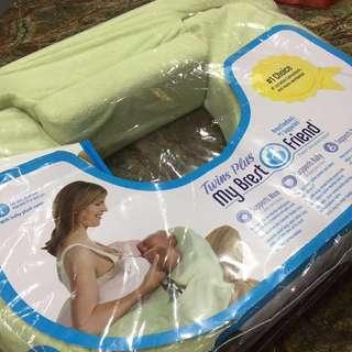 (Preloved) My Brestfriend Twins nursing pillow