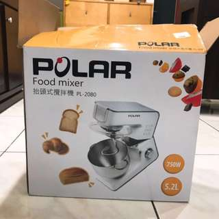 免運 Polar普樂 抬頭式食物攪拌機(全304不鏽鋼配件) PL-2080