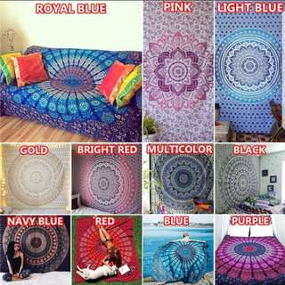 Mandala Tapestry / Shawl / Beach Towel / Blanket