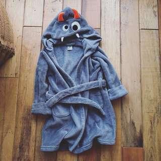 BabyGap 小小怪獸毛巾浴袍