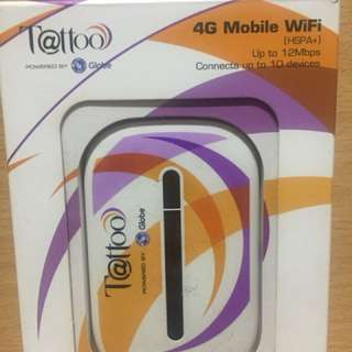 Globe Tattoo Pocket Mobile Wifi 4G LTE for iPhone Android not Smart