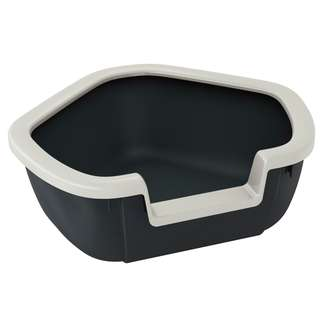 Ferplast Litter Tray Dama - Black (F72039099)