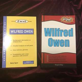Wilfred Owen Textbooks