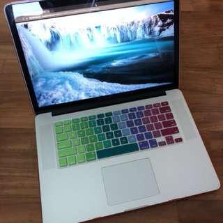 Beautiful MacBook Pro Retina 15-inch mid-2014