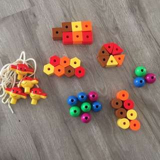 Shapes String Set