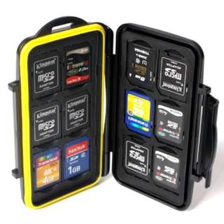 SD Card Case wallet pouch compartment