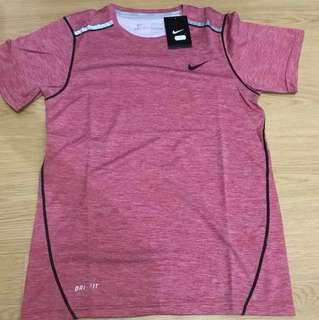 Nike Dri-Fit Top for Men - Red (Medium)