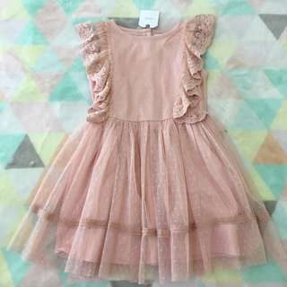 NEXT Dusty Pink Tulle Dress