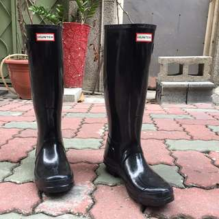 Hunter 經典款 正品 全新 長筒雨靴 無鞋盒