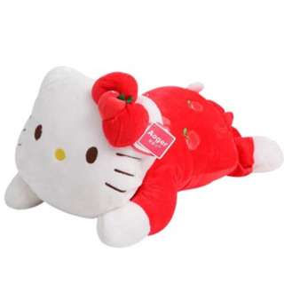 Hello kitty lying down soft toy for Xmas gift!