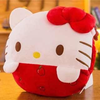 Hello kitty round handwarmer