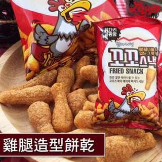 韓國Shinheung Food雞大腿造型餅乾*5包入