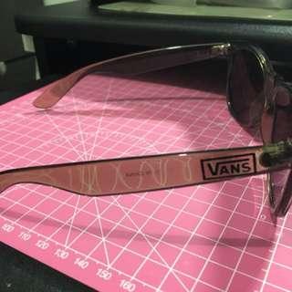 Vans 太陽眼鏡 灰色透明框