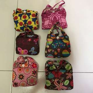 6 Recycle Bags