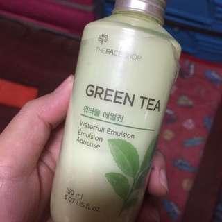 Faceshop Green Tea Water Emulsion