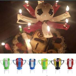 Football Musical Candle