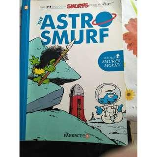 The Astro Smurf (a comic book)