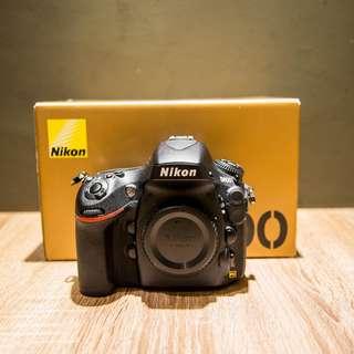 Nikon D800 Full set with box